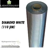Silber-Diamant-Folie Mylar Reflektierender Film für Wachstumszelt für Hydrokulturen, 2bis 100m