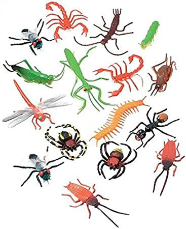 amazon darice 16 pc 2 long plastic bugs and arachnids for Birthday Decoration Ideas for Girls darice 16 pc 2 long plastic bugs and arachnids for playtime party