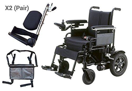 Drive Medical CPN20FBA-E Cirrus Plus EC Folding Power Wheelchair, 20