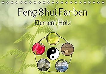 Feng Shui Farben Element Holz Tischkalender 2019 Din A5 Quer