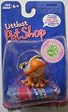 : Littlest Pet Shop Super Sassy Pets # 362 Orange Dart Frog
