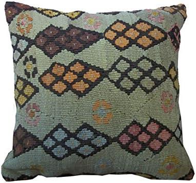 Magnifique De Luxe Laine Vintage Oriental Coloré Pure Kilim housses de coussin