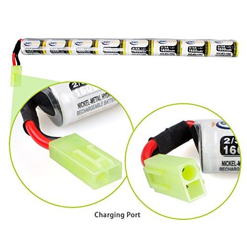 Keenstone-Upgrade-96V-NiMH-1600mAh-Butterfly-Nunchuck-Stick-Mini-Battery-Pack-96V-1600mAh-stick-battery