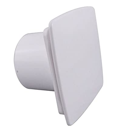 Awe Inspiring Bathroom Extractor Fan 100Mm 4 With Timer Humidity Sensor Humidistat White Front Panel Wnb100H Beutiful Home Inspiration Xortanetmahrainfo