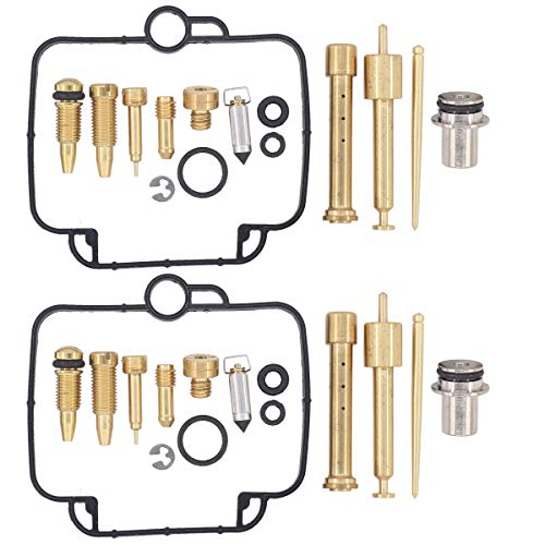 (MOTOKU Pack of 2 Carburetor Carb Rebuild Repair kit for Suzuki GS500E BMW F650 F650SE F650GS Motorcycle )