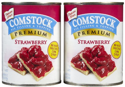 (Comstock Strawberry Pie Filling/Topping - 21 oz - 2 pk)