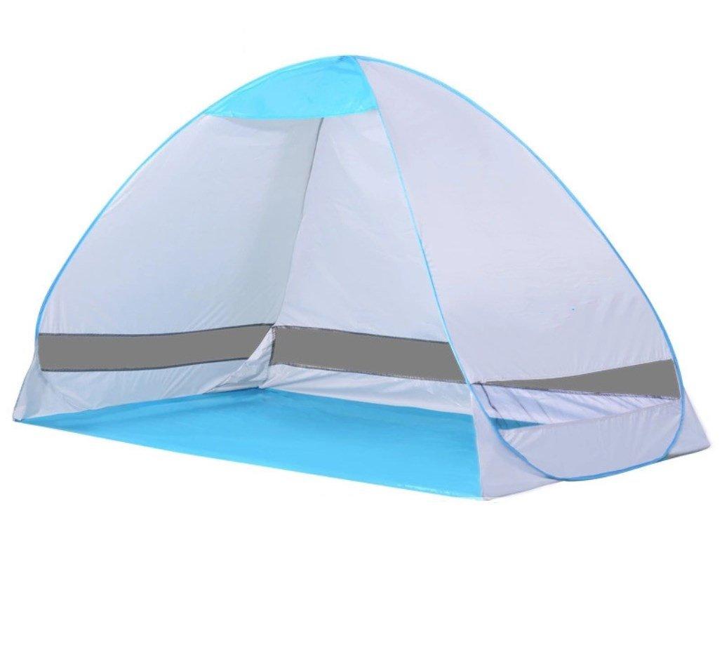 Strand-Zelt automatisch öffnen faltendes im Freien Doppeltes Fischen-Zelt ZXCV