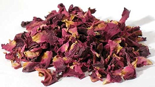 1 Lb Red Rose Buds & Petals (HROSRWB) -