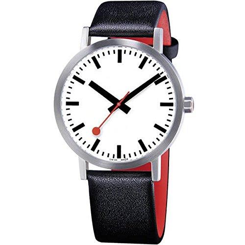 モンディーン(MONDAINE)腕時計 クラシック ピュア 40mm ホワイトダイアル A660.30360.16OM 腕時計 B01M8K8DDS