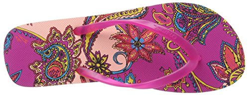 O'Neill - Fw Moya Two, Infradito Donna Mehrfarbig (RED AOP W/ RED 3930)