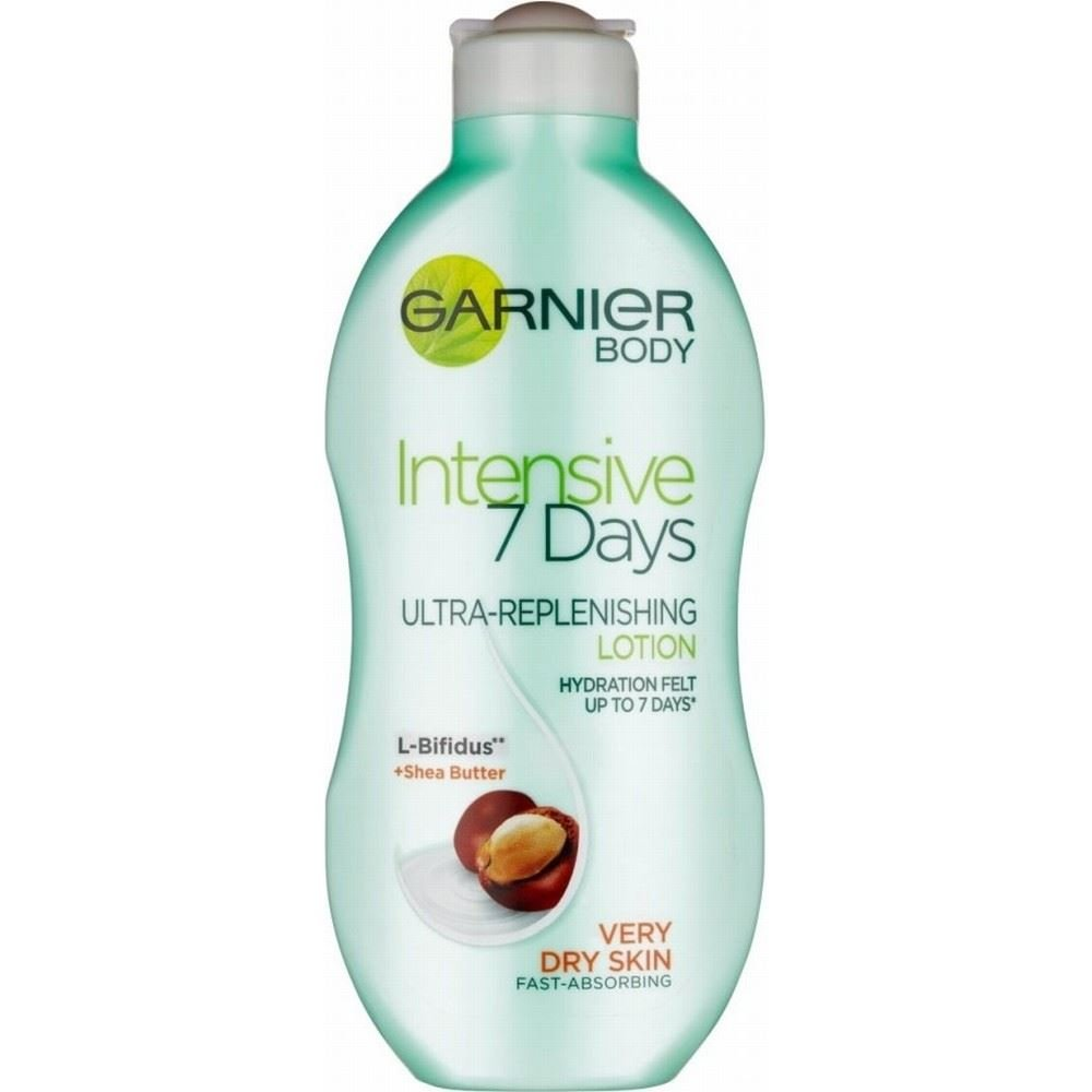 Garnier Body Intensive 7 Day Nourishing Lotion - Shea Butter (250ml) - Pack of 2 Groceries