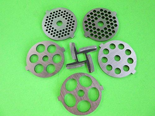 5 meat grinder plates - 4