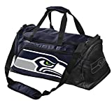 Forever Collectibles Seattle Seahawks Locker Room Duffle Bag Elite Style