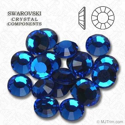 Amazon.com  Capri Blue Swarovski Rhinestones FlatBack ss16 (72 ... 422fbc53f1