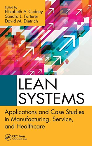 (Lean Systems: Applications and Case Studies in Manufacturing, Service, and Healthcare)