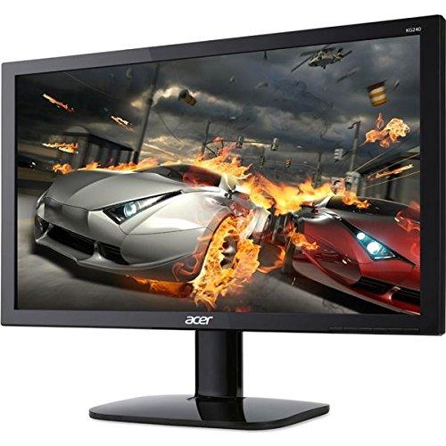 Acer 24型ワイド液晶ディスプレイ KG240bmiix(非光沢/1920x1080/ブラック/ミニD-Sub15ピン HDMIx2/スピーカー/イヤホン端子) KG240bmiix AV デジモノ パソコン 周辺機器 その他のパソコン 周辺機器 [並行輸入品] B01M6XUZLX
