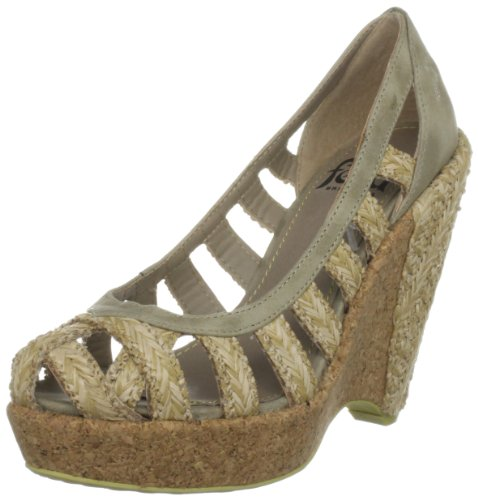 Wedges Raffia Heels Women's Britannia Natural Feud Bail qa6FFS