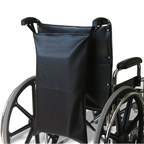(NYOrtho Wheelchair Footrest Bag/Leg Rest Bag/Footrest Extender Storage Bag (Fits Wheelchair Seat Widths 16