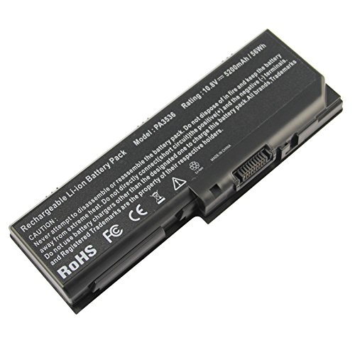Pa3536u 1brs Replacement - Futurebatt Laptop Battery For PA3536U-1BRS Toshiba Satellite L350 L355-S7907 L355-S7915 P200 P205 P205D PA3536U-1BRS PA3537U-1BAS PA3537U-1BRS PABAS100 PABAS101