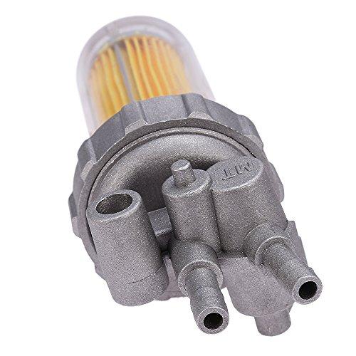 QKPARTS Fuel sift Shutoff Valve Fuel Filters