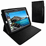 Piel Frama 694 Black Lizard Cinema Magnetic Leather Case for Apple iPad Air 2