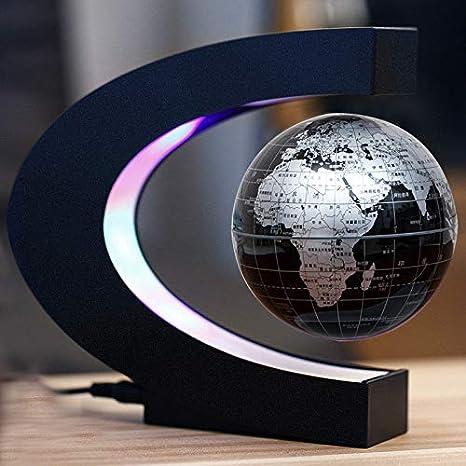 Globe - Maglev Luminous Rotation - Decoración De La Sala De ...