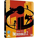 Incredibles 2: Steelbook, 3D and 2D Blu-ray combo