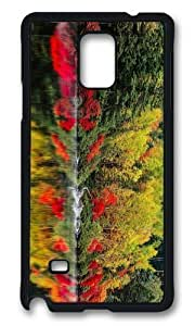 Adorable autumn lake forest Hard Case Protective Shell Cell Phone Samsung Galxy S4 I9500/I9502