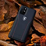 PEEPERLY OnePlus 9 Series Logo Stitched Dual-Material Pure Leather Back Cover for (OnePlus 9 Pro)