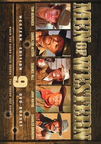 Men Of Western Box: McLintock + The Last Hard Men + Rio Grande + Butch And Sundance + North To Alaska + Man Of...