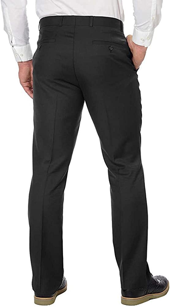 Kenneth Cole New York Mens Flat Front Dress Pant