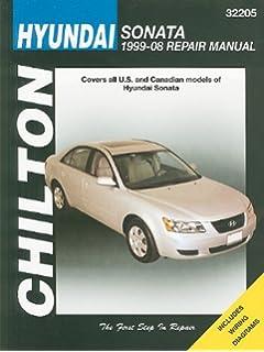 Hyundai sonata 1999 thru 2014 automotive repair manual editors hyundai sonata 1999 thru 2008 chiltons total car care repair manuals fandeluxe Gallery