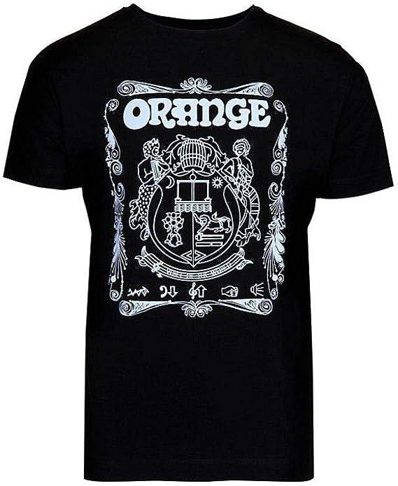 Amazon.com: Orange-Amplifiers-Crest-T-Shirt-Black-Medium: Clothing