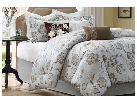 Harbor House Lynnwood Comforter Set, Queen, Gracier Grey