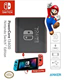 [Power Delivery] Anker PowerCore 13400 Nintendo Switch Edition, The Official 13400mAh Portable Charger for Nintendo Switch, for use with iPhone X/8, USB-C MacBooks, and More