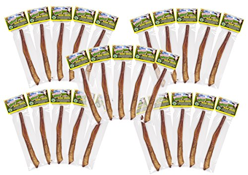 Free Raised Pet Products, 11-12 inch Supreme Bully Sticks, 30 Pack by Free Range Bully Sticks Supreme