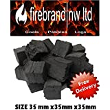 15 Gas Fire small Coals Replacements Grate Glow/Bio Fuels/Ceramic/Boxed by Firebrandnw