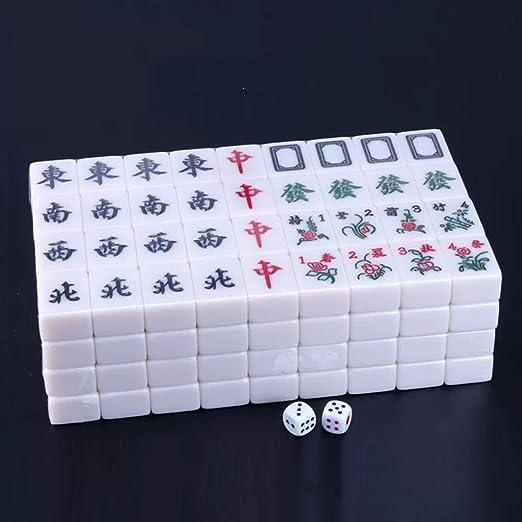 Mah Jong Azulejos Juego de Mesa Juegos de Mahjong Chino ...