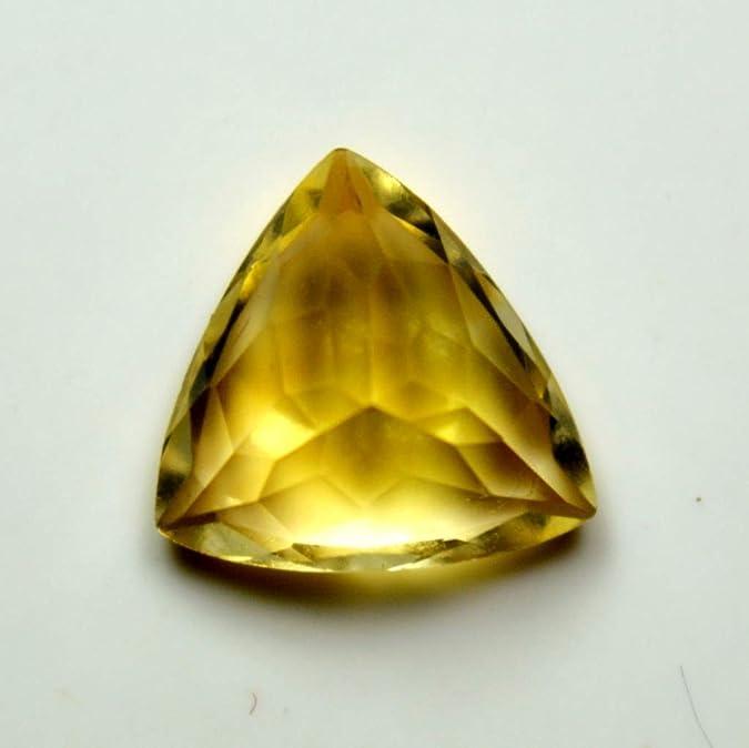 Details about  /Lot Natural Citrine Lemon Quartz 6X6 mm Trillion Cabochon Loose Gemstone