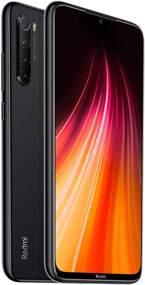 Xiaomi Redmi Note 8 64GB + 4GB RAM, 6.3″ LTE 48MP Factory Unlocked GSM Smartphone – International Version (Space Black)