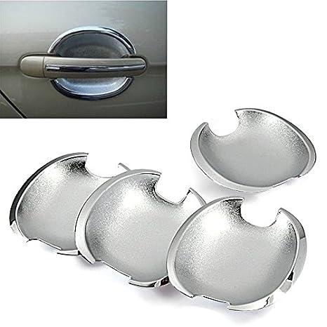 Espejo cromado lateral tirador de puerta Bowl Covers Recorta para Volkswagen VW 99 - 04 Golf Jetta Bora MK4 98 - 05 Passat B5 B5.5: Amazon.es: Coche y moto