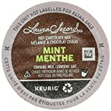 Laura Secord Mint Hot Chocolate Single Serve Keurig Certified Recyclable K-Cup pods for Keurig brewers, 12 Count