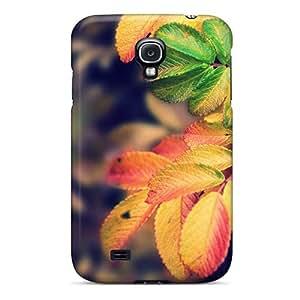 Brand New S4 Defender Case For Galaxy (autumn Leaves Forest Landscape Desktop)