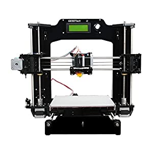 Geeetech Prusa Reprap Acrylic I3 X DIY LCD Filament 3D Printer Support 6 Materials +1KG Free PLA Filament
