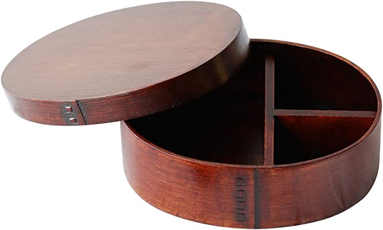 BESTONZON - Fiambrera de madera estilo japonés, una capa ...