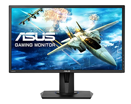 ASUS VG245H 24-inch Gaming Monitor, FHD (1920 x 1080), 1 ms, Upto 75 Hz, HDMI, D-Sub, Super Narrow Bezel, FreeSync via HDMI, Low Blue Light, Flicker Free