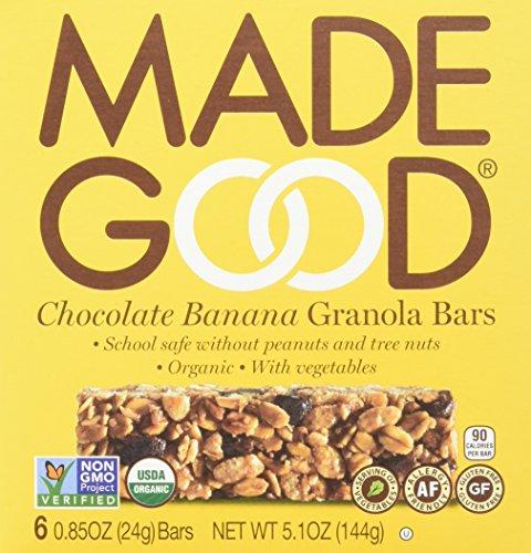 - Made Good Granola Bar Chocolate Banana,0.85 Oz , 6 Count (Pack of 6)