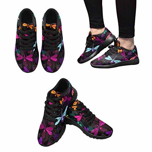 InterestPrint Womens Jogging Running Sneaker Lightweight Go Easy Walking Comfort Sports Running Shoes Multi 7 IBjVh