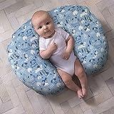 Boppy Original Pillow Cover, Blue Dog Park, Cotton