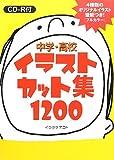 中学・高校イラストカット集1200―CD-R付